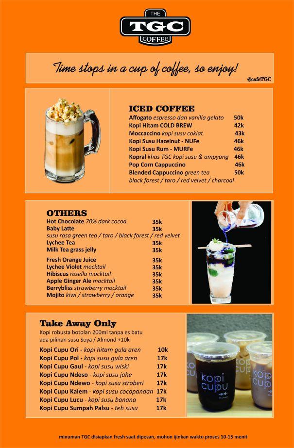 menu TGC basra Bev 1