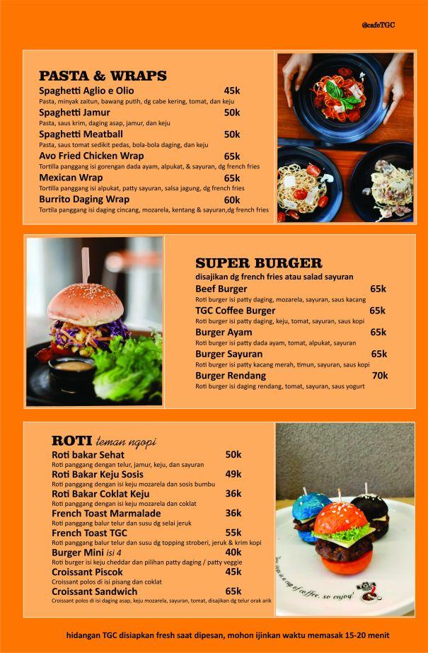 menu TGC basra Food 1